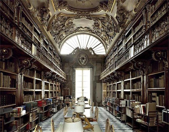 Nhiếp ảnh gia người Ý thực hiện cuộc hành trình đi tìm thư viện đẹp nhất thế giới, và đây là những gì anh ấy ghi lại được - Ảnh 9.