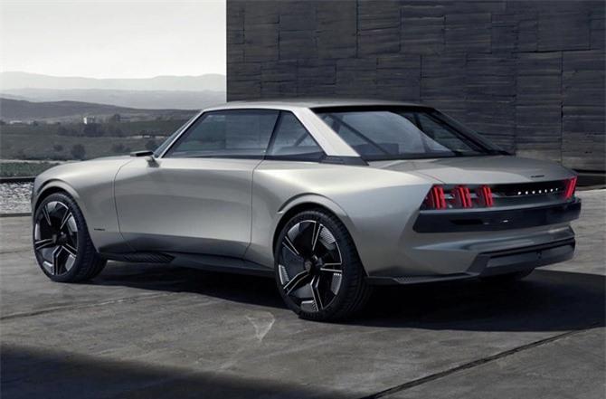 19. Peugeot E-Legend Concept.
