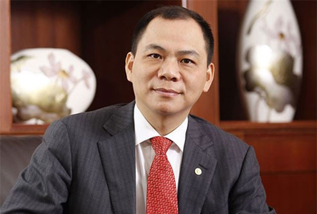 Ông Phạm Nhật Vượng đang sở hữu khối tài sản ròng 6,4 tỷ USD.