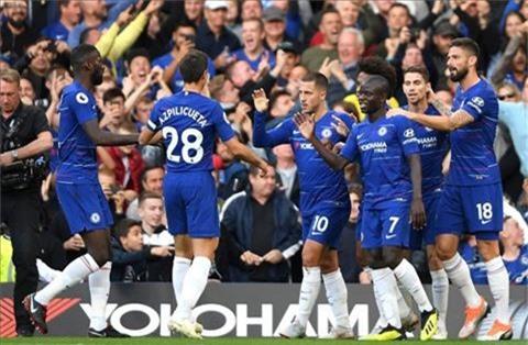 Chelsea an mung ban thang Hazard
