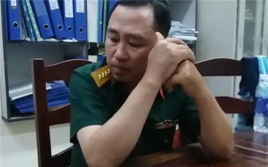 Lê Thanh Hùng lúc bị bắt