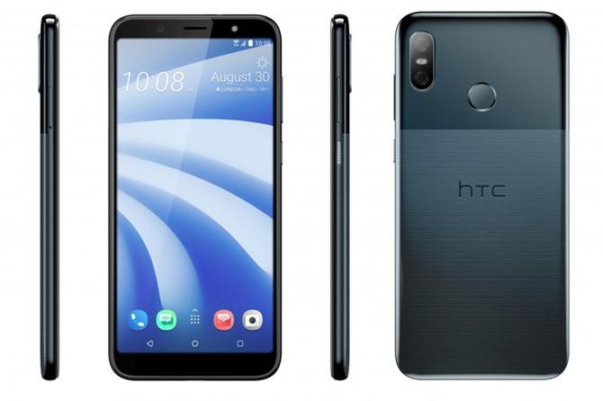 HTC U12 Life sử dụng vỏ bằng nhựa nguyên khối với họa tiết phần dưới mặt lưng khá bắt mắt. U12 Life sở hữu số đo 158,5x75,4x8,3 mm, cân nặng 175 g.