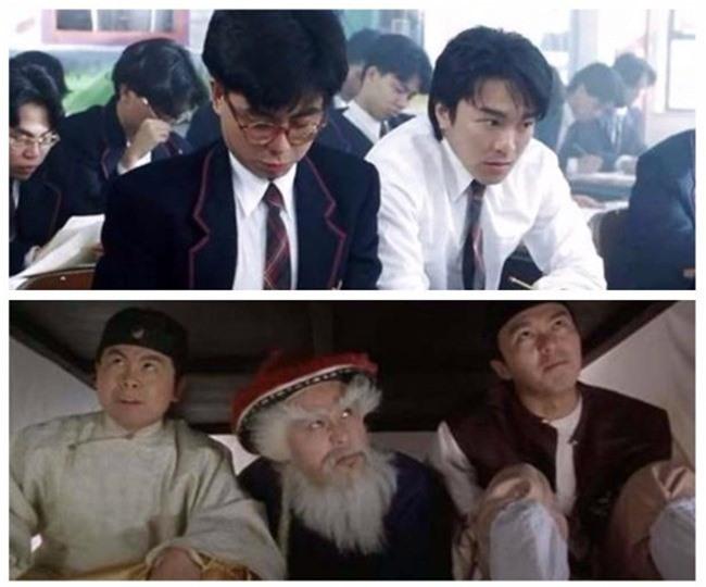 Hoàng Nhất Sơn trong phim của Châu Tinh Trì.