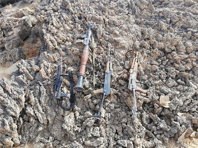 Quân đội Syria phát hiện một loạt vũ khí...