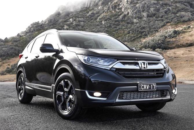 3. Honda CR-V (doanh số: 30.587 chiếc).