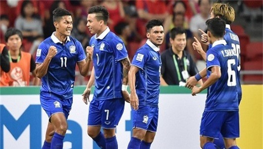 Thái Lan, ĐTQG Thái Lan, Việt Nam, AFF Cup 2018
