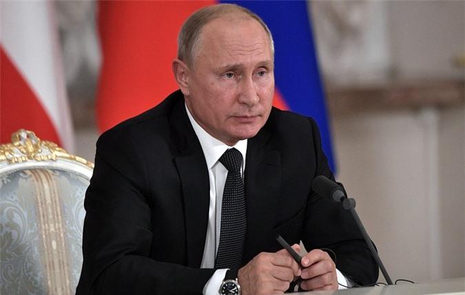 Tổng thống Nga Vladimir Putin. (Ảnh: TASS)