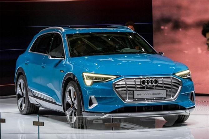 7. Audi e-Tron 55 Quattro.