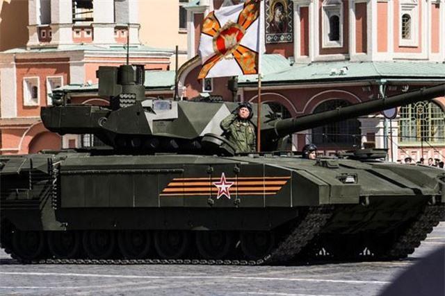 Ấn Độ gây 'sốc' với kế hoạch mua 1.700 siêu tăng T-14 Armata của Nga. Ảnh: Sputnik