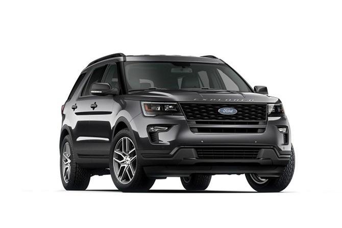 5. Ford Explorer 2019 (giá khởi điểm: 32.365 USD).