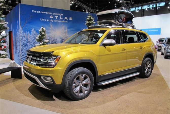 7. Volkswagen Atlas 2019 (giá khởi điểm: 30.895 USD).