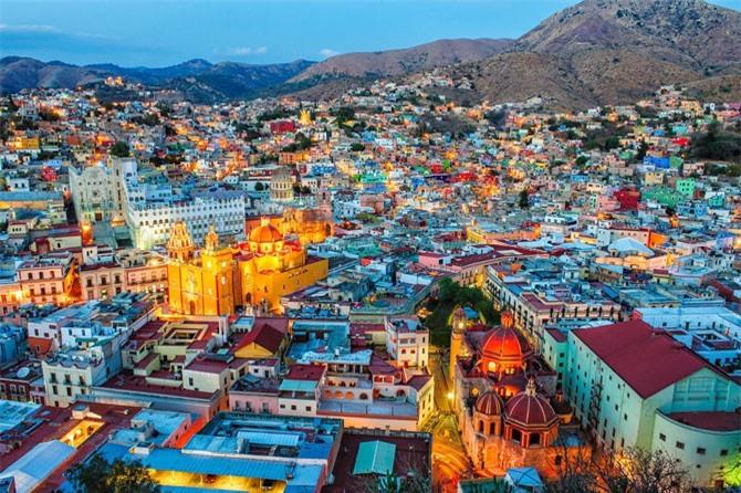 9. Thành phố Guanajuato, Mexico.