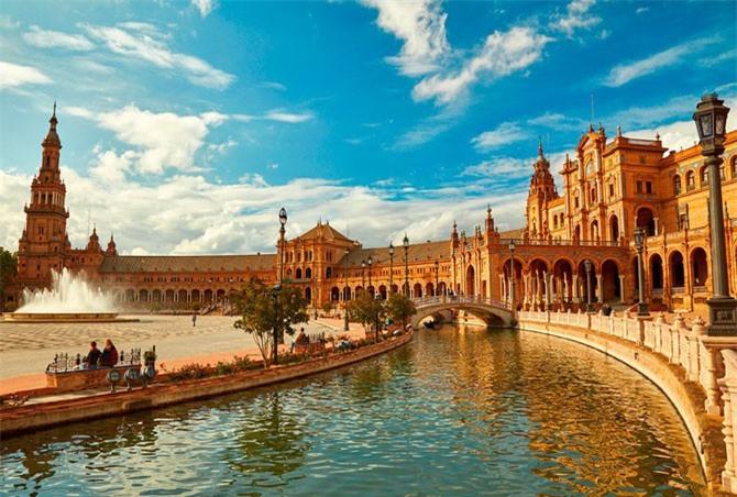 1. Thành phố Sevilla, Tây Ban Nha.