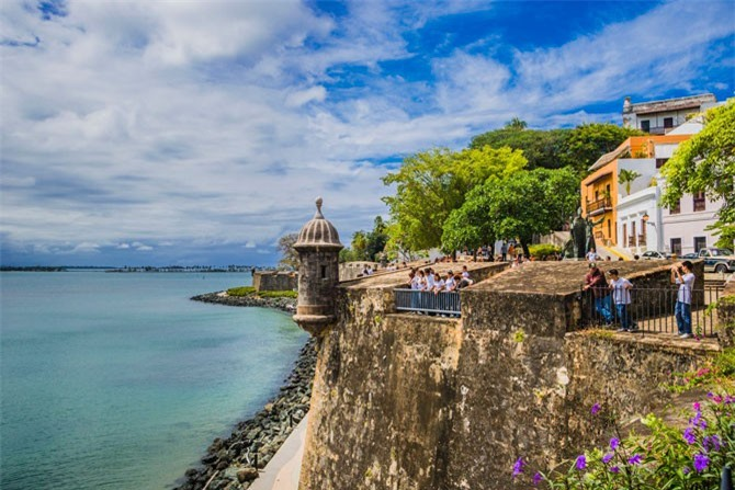 8. Thủ đô San Juan, Puerto Rico.