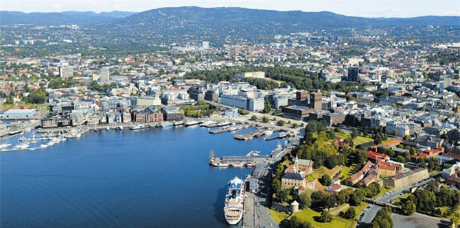 10. Thủ Đô Oslo, Na Uy.