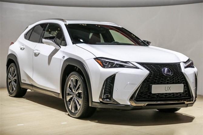 6. Lexus UX 2019 (giá khởi điểm: 33.025 USD).