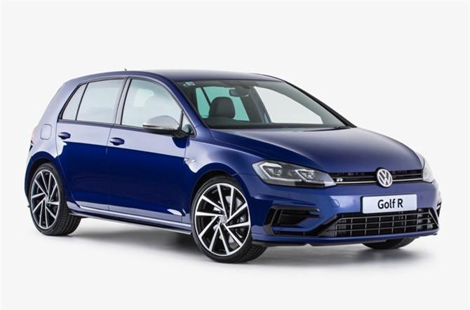 9. Volkswagen Golf R 2019 (giá khởi điểm: 42.065 USD).
