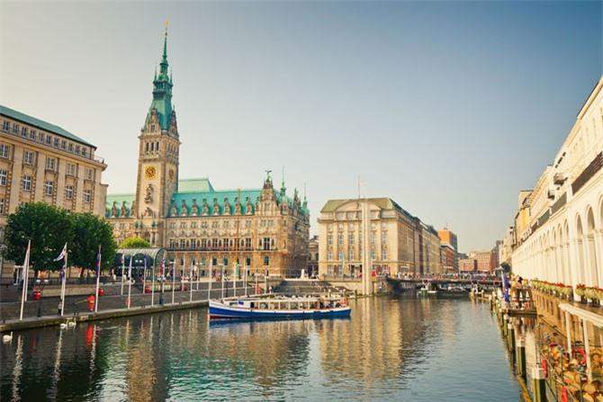 4. Thành phố Hamburg, Đức.