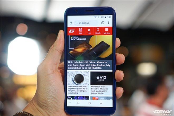 Ảnh thực tế smartphone bình dân S3 Plus của Asanzo: thiết kế đã được cải tiến, camera kép xoá phông, cảm biến vân tay đặt ở cạnh viền - Ảnh 1.