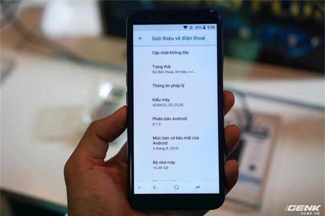 Ảnh thực tế smartphone bình dân S3 Plus của Asanzo: thiết kế đã được cải tiến, camera kép xoá phông, cảm biến vân tay đặt ở cạnh viền - Ảnh 10.