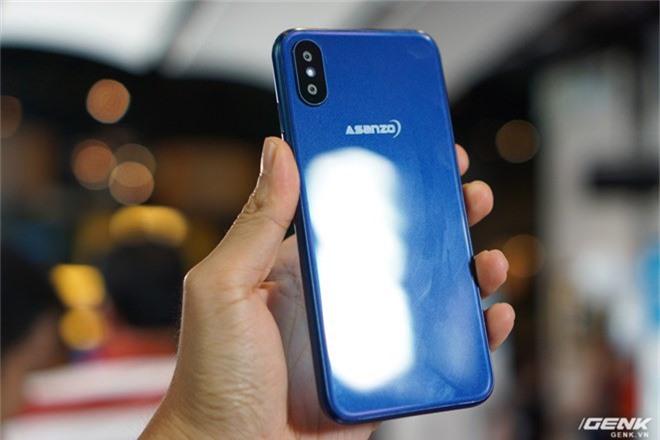 Ảnh thực tế smartphone bình dân S3 Plus của Asanzo: thiết kế đã được cải tiến, camera kép xoá phông, cảm biến vân tay đặt ở cạnh viền - Ảnh 2.
