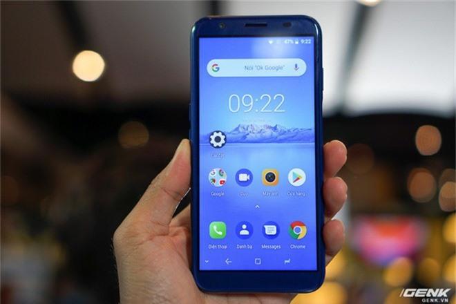 Ảnh thực tế smartphone bình dân S3 Plus của Asanzo: thiết kế đã được cải tiến, camera kép xoá phông, cảm biến vân tay đặt ở cạnh viền - Ảnh 4.