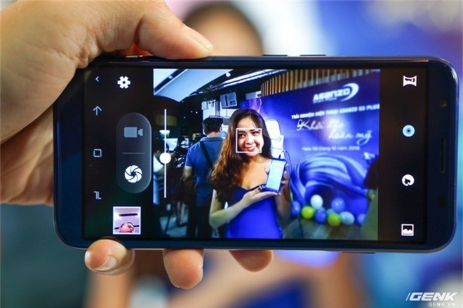 Ảnh thực tế smartphone bình dân S3 Plus của Asanzo: thiết kế đã được cải tiến, camera kép xoá phông, cảm biến vân tay đặt ở cạnh viền - Ảnh 7.