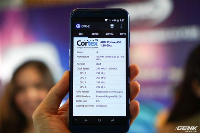 Ảnh thực tế smartphone bình dân S3 Plus của Asanzo: thiết kế đã được cải tiến, camera kép xoá phông, cảm biến vân tay đặt ở cạnh viền - Ảnh 8.