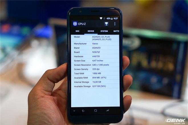 Ảnh thực tế smartphone bình dân S3 Plus của Asanzo: thiết kế đã được cải tiến, camera kép xoá phông, cảm biến vân tay đặt ở cạnh viền - Ảnh 9.