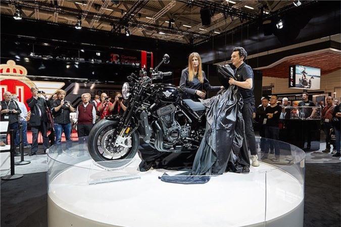 Sieu moto 6 xy-lanh Horex VR6 Raw co gia 40.000 USD tai Duc hinh anh 1