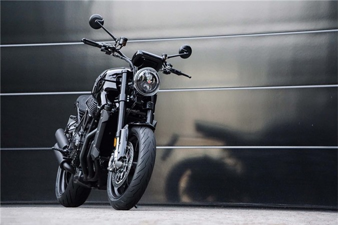 Sieu moto 6 xy-lanh Horex VR6 Raw co gia 40.000 USD tai Duc hinh anh 10