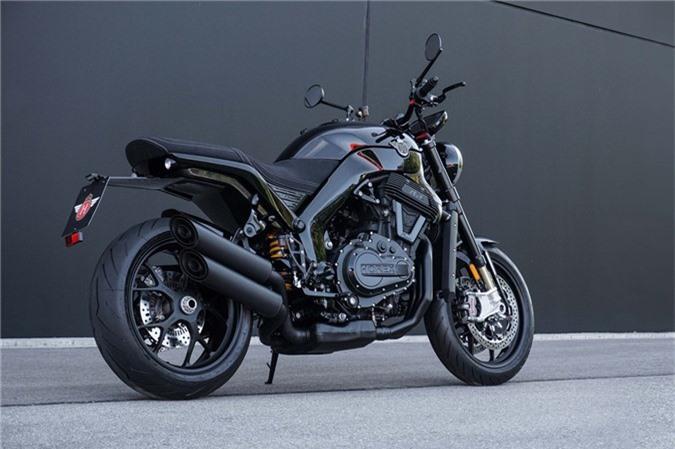 Sieu moto 6 xy-lanh Horex VR6 Raw co gia 40.000 USD tai Duc hinh anh 4
