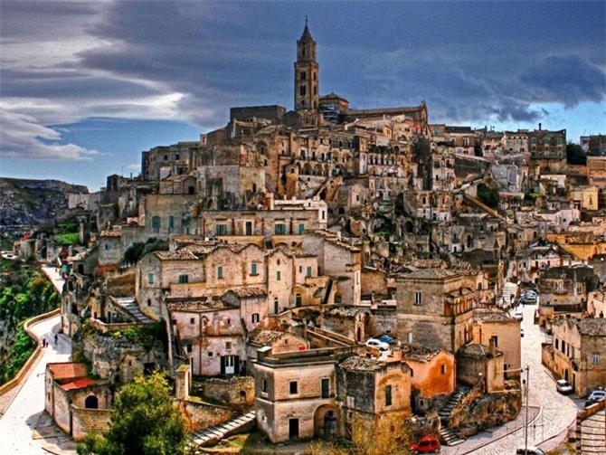 7. Thành phố Matera, Italia.