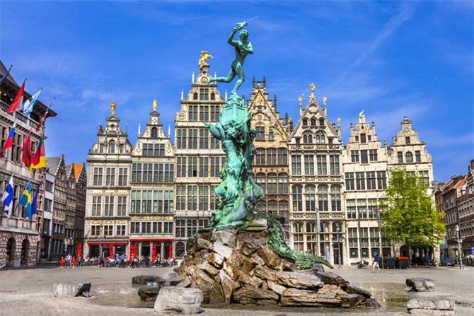 6. Thành phố Antwerpen, Bỉ.