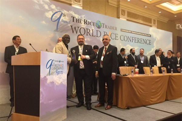 Hội nghị quốc tế về thương mại gạo thế giới lần 9. (Ảnh: Thời báo Tài chính)