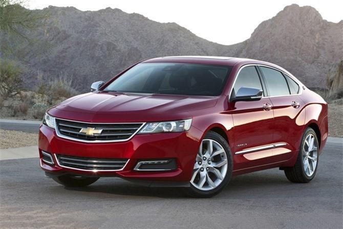 10. Chevrolet Impala. Mức rớt giá sau 5 năm sử dụng: 66,2%.