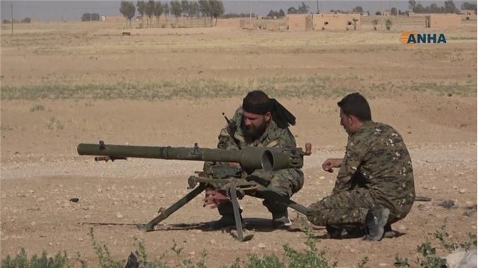 Giao tranh giữa SDF và IS ở