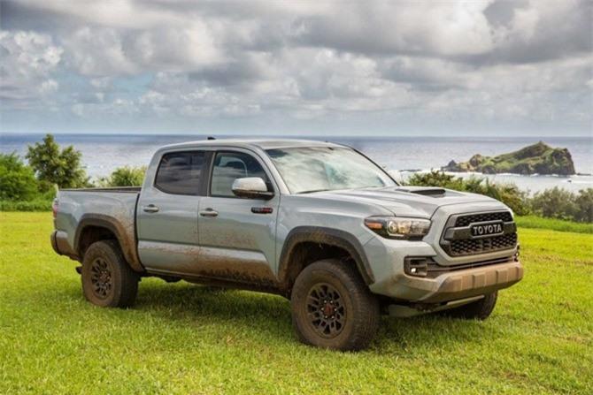 10. Toyota Tacoma TRD Off-Road 2019.