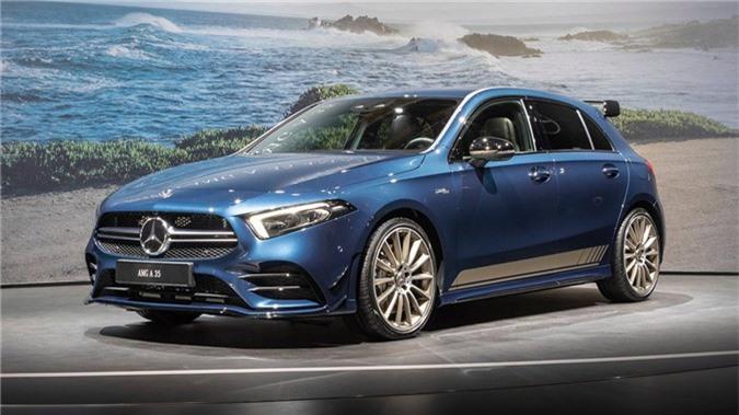 Hatchback hieu suat cao Mercedes-AMG A35 2019 ra mat hinh anh 2