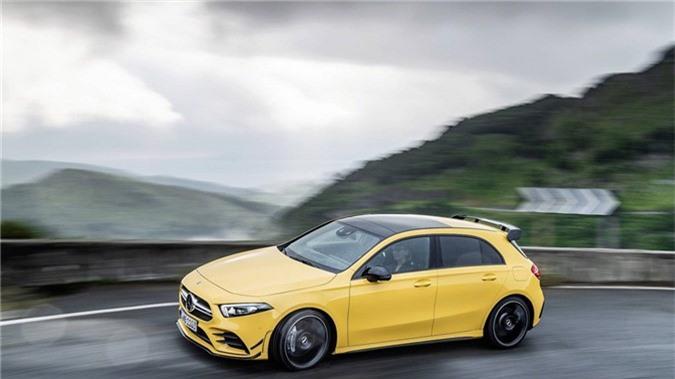 Hatchback hieu suat cao Mercedes-AMG A35 2019 ra mat hinh anh 7