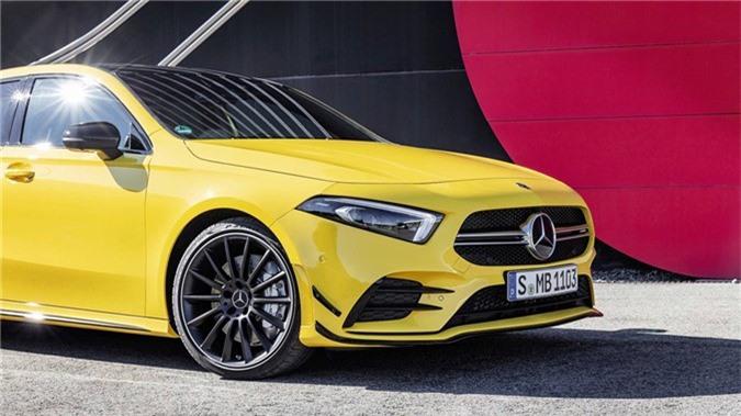 Hatchback hieu suat cao Mercedes-AMG A35 2019 ra mat hinh anh 8