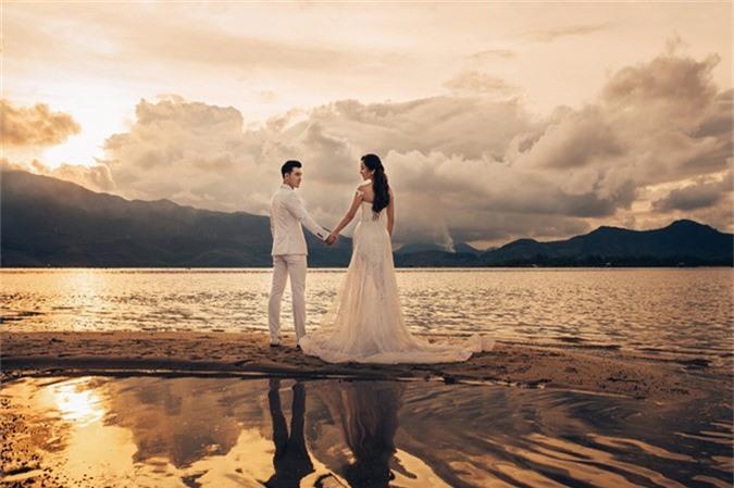 Ưng Hoàng Phúc - Kim Cương thức dậy từ 3h sáng để chụp ảnh cưới - 3