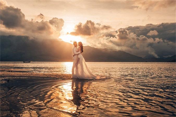 Ưng Hoàng Phúc - Kim Cương thức dậy từ 3h sáng để chụp ảnh cưới - 9