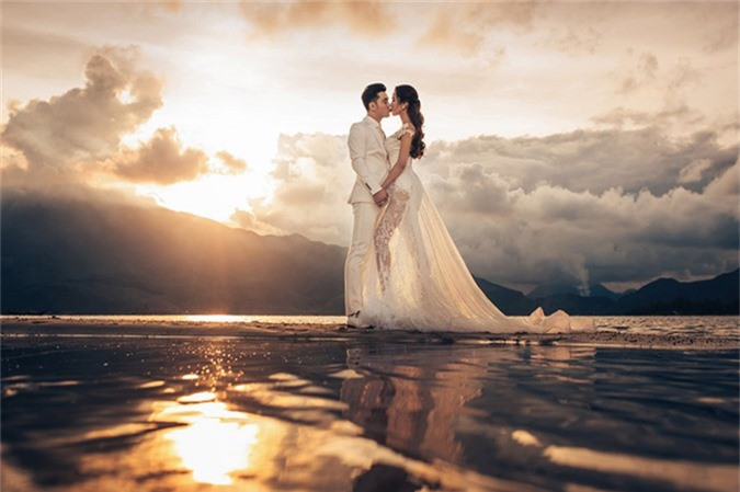 Ưng Hoàng Phúc - Kim Cương thức dậy từ 3h sáng để chụp ảnh cưới - 5
