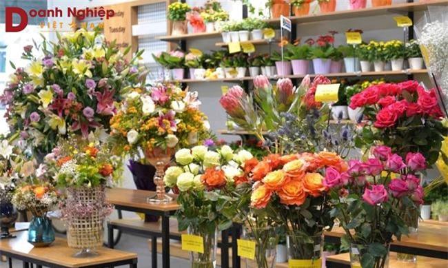 Càng sát ngày Phụ nữ Việt Nam 20-10 giá hoa tươi Đà Lạt càng tăng cao, đặc biệt là các loại hoa hồng (Ảnh: VH)