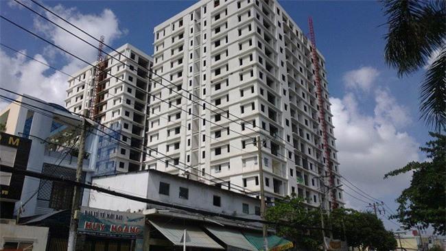Chung cư Gia Khang Tân Hương (quận Tân Phú, TP.HCM) liên tục bị người dân khiếu nại liên quan đến phí bảo trì chung cư (Ảnh: VD).
