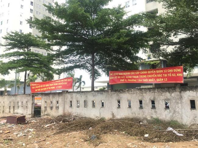 Người dân chung cư Tín Phong kêu cứu lên HoREA vì nghe tin quy hoạch trạm rác trung chuyển trong khu dân cư (ảnh TL).