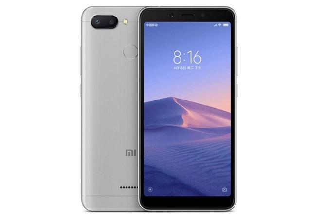 Xiaomi Redmi 6 (3,49 triệu đồng).