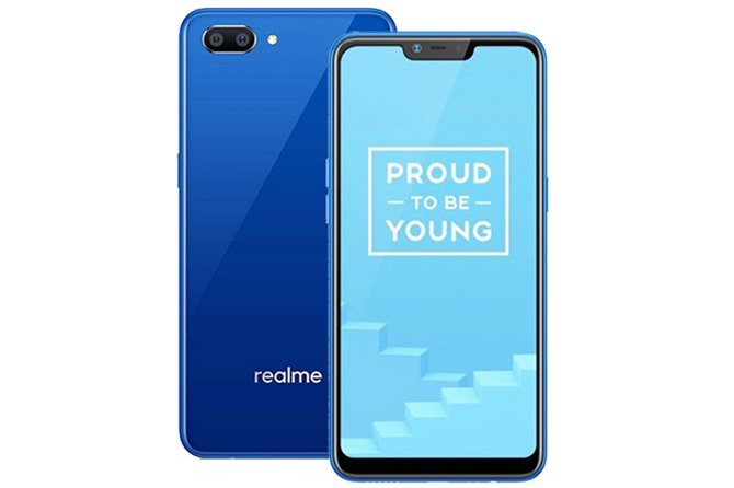 Realme C1 (2,49 triệu đồng).
