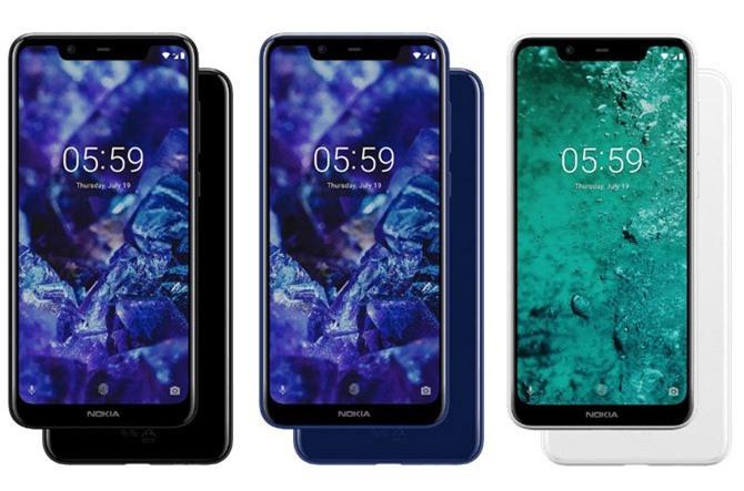 Nokia 5.1 Plus (4,79 triệu đồng).
